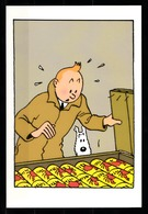 CP Tintin : Editions Hergé/Moulinsart Sundancer N° 014 ( Recto-Verso ) - Bandes Dessinées