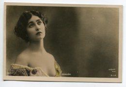 ARTISTE 1066 Natalina Lina CAVALIERI Portrait  188/ 11   écrite En 1906  Photog REUTLINGER - Opéra