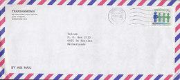 Singapore TRANSAMMONIA, SINGAPORE 1984 Cover Brief DE HEERLEN Netherlands Naighbourhood Watch Stamp - Singapur (1959-...)