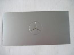 Double Carte Publicitaire Automobile MERCEDES Concession A PARIS  TBE - Other