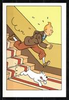 CP Tintin : Editions Hergé/Moulinsart Sundancer N° 012 ( Recto-Verso ) - Bandes Dessinées