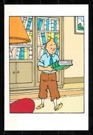 CP Tintin : Editions Hergé/Moulinsart Sundancer N° 011 ( Recto-Verso ) - Bandes Dessinées
