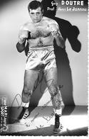 DOUTRE  Guy  - Avec Autographe   ( C.P.S.M.  , Pt - Ft ) - Boxing