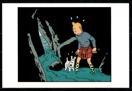 CP Tintin : Editions Hergé/Moulinsart Sundancer N° 010 ( Recto-Verso ) - Bandes Dessinées