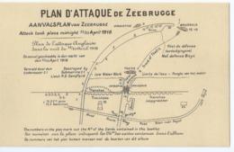 Zeebrugge - Plan D'Attaque De Zeebrugge - Aanvalsplan Van Zeebrugge - Edition J. Revyn - Zeebrugge