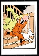 CP Tintin : Editions Hergé/Moulinsart Sundancer N° 007 ( Recto-Verso ) - Bandes Dessinées