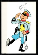 CP Tintin : Editions Hergé/Moulinsart N° 097 ( Recto-Verso ) - Bandes Dessinées