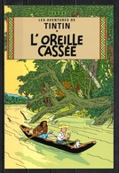 CP Tintin : Editions Hergé/Moulinsart N° 30074 ( Recto-Verso ) - Bandes Dessinées