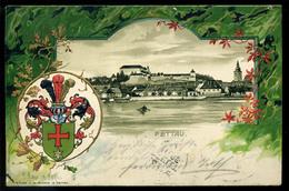 PETTAU 1908. Litho Képeslap - Slovenië