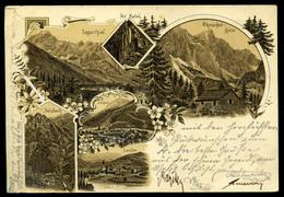 SOLCAVA / SULZBACH 1898. Litho Képeslap - Slovenië