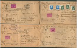 1933-42. 4 Db Szép értéklevél - Hongarije