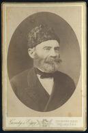 DEBRECEN 1885. Ca. Gondy és Egey : Ismeretlen Férfi Szép Cabinet Fotó - Foto's