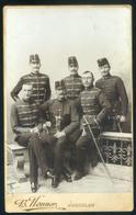 PÁLFFY HUSZÁROK 1890-95. Ca. B.Henner : Jaroslaw , Nagyon Szép Cabinet Fotó - Andere