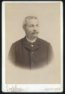 BUDAPEST Erdélyi : Dr Kolozsvári Sándor 1840-1922.  Jogász, Egyetemi Tanár Szép Cabinet Fotó - Foto's