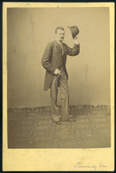 EPERJES 1877. Divald K.: Pázmándy Géza Szép Cabinet Fotó - Andere