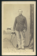 TEMESVÁR 1870. N.Stockmann & L.. Troché : Ismeretlen Katona Szép Visit Fotó - Andere