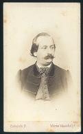 MAROSVÁSÁRHELY Ciehulski P. 1865-70. Cca. Dr Péterffy József Orvosdoktor 1826 –1890. Visit Fotó , (az Első Vásárhelyi Do - Andere