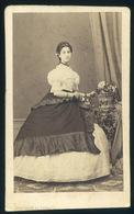 ARAD 1860.  Auerbach és Kozmata: Ismeretlen Hölgy, Nagyon Ritka, Tökéletes Visit Fotó - Foto's