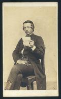 KOLOZSVÁR 1865. Marselek F : Ismeretlen Férfi, Ritka Visit Fotó - Foto's
