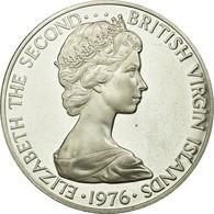 Monnaie, BRITISH VIRGIN ISLANDS, Elizabeth II, Dollar, 1976, Franklin Mint - Islas Vírgenes Británicas