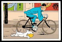 CP Tintin : Editions Hergé/Moulinsart N° 30163 ( Recto-Verso ) - Bandes Dessinées
