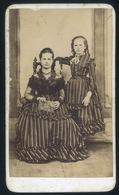 EGER (?) 1865. Ca. Andrasi & Záhor :Ismeretlen Hölgy, Gyerek Ritka és Jó Visit Fotó (nem Láttam Ilyen Verso-t) - Foto's