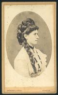 ARAD 1880.cca. Drescher és Weisz :Ismeretlen Hölgy  Visit Fotó - Foto's