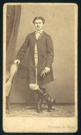 ARAD 1865-70.  Rotmann és Társa:I Smeretlen Férfi  Visit Fotó - Foto's