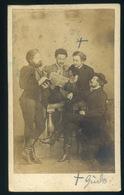 KASSA 1864-65. Ca. Letzter Lázár : Ismeretlen Férfiak, Ritka és érdekes Vsit Fotó. Letzter 1832-ben Született Kassán Sze - Andere