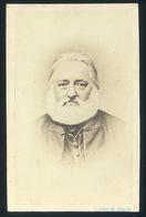 NAGYVÁRAD 1863-68. Ca. Lojanek János : Ismeretlen Férfi, Visit Fotó, Ritka Verso - Andere