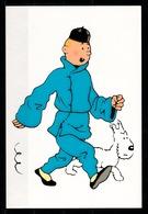 CP Tintin : Editions Hergé/Moulinsart N° 095 ( Recto-Verso ) - Bandes Dessinées