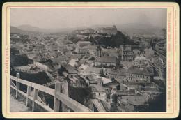1887. Buda A Gellérthegyről, Régi Fotó 16*11 Cm - Foto's