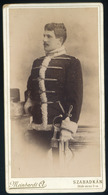 SZABADKA 1880. Ca. Meinhardt Ágoston : Katona Portré, Szép Cabinet Fotó - Andere