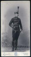 BRASSÓ 1900. Ca. Knauer Julius : Katona Portré, Szép Cabinet Fotó , Szmrecsányi Dárius - Andere