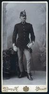PÉCS 1902. Zelesny : Katona Portré Cabinet Fotó - Andere