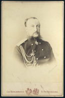 OROSZORSZÁG Nyikolaj Nyikolajevics Romanov Orosz Nagyherceg Főparancsnok , Cabinet Fotó , Bergamasco  /  RUSSIA Archduke - Andere