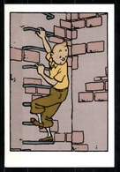 CP Tintin : Editions Hergé/Moulinsart Sundancer N° 004 ( Recto-Verso ) - Bandes Dessinées