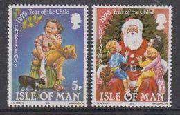 Isle Of Man 1979  Christmas / Weihnachten 2v ** Mnh (42919H) - Man (Eiland)