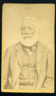 SZATMÁR 1872. Skopal J. : Ismeretlen Férfi, Régi Visit Fotó - Foto's