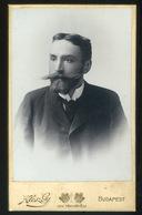PEST 1890.cca.  Klösz György : Baross Károly (1865 – 1905) Agrárpolitikus, Gazdasági író. Visit Fotó - Foto's