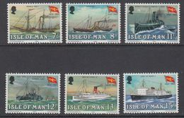 Isle Of Man 1980 Mailboats 6v ** Mnh (42919F) - Man (Eiland)