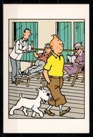CP Tintin : Editions Hergé/Moulinsart N° 001 ( Recto-Verso ) - Bandes Dessinées