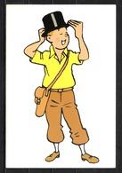 CP Tintin : Editions Hergé/Moulinsart N° 092 ( Recto-Verso ) - Bandes Dessinées