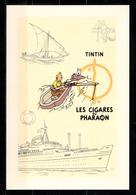 CP Tintin : Editions Hergé/Moulinsart N° 30156 ( Recto-Verso ) - Bandes Dessinées