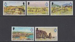 Isle Of Man 1980 Geographical Society 5v  ** Mnh (42919L) - Man (Eiland)