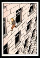 CP Tintin : Editions Hergé/Moulinsart N° 30161 ( Recto-Verso ) - Bandes Dessinées