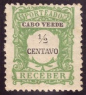 Cabo Verde / Cap Vert - 1921 Porteado # MNH # - Cap Vert