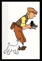 CP Tintin : Editions Hergé/Moulinsart N° 103 ( Recto-Verso ) - Bandes Dessinées