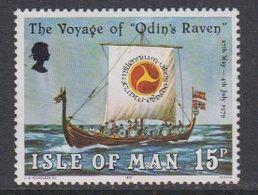 Isle Of Man 1979 Vikings / The Voyage Of Odin's Raven 1v  ** Mnh (42919N) - Man (Eiland)