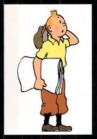 CP Tintin : Editions Hergé/Moulinsart N° 101 ( Recto-Verso ) - Bandes Dessinées